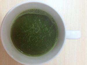黒酢青汁 お湯